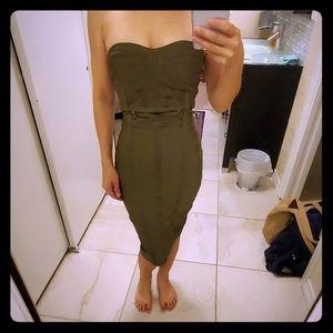 Fashion Nova bandage bodycon dress